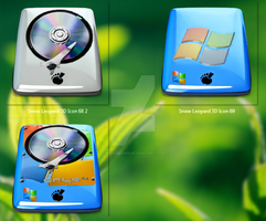 Concept icon HDD mix by minh2541995