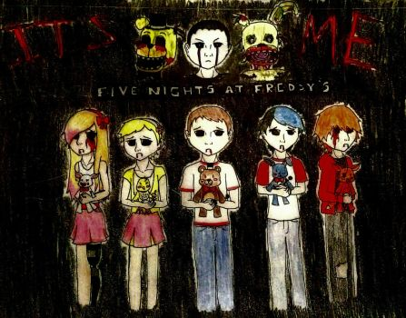 Five Nights at Freddy's Tribute by MrKittyPants15