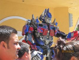 Optimus Prime by Runway01