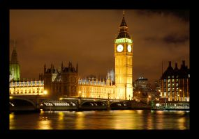 Big Ben - House of Parliement by XClimax