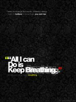 Keep Breathing by divzz