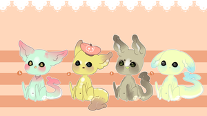 Gummi Shark Puppies 5 .:Closed:. by Pieology