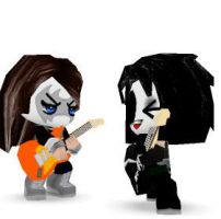 paul stanley and ace frehley by spidapig789