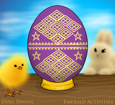 Imperial Faberge Egg by ArielKamikaze