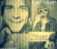 Kurt Cobain Wallpaper by deadhead1313