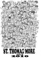 large group caricature STM by sketchoo