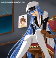 ESDEATH-SAMA by claudiadragneel