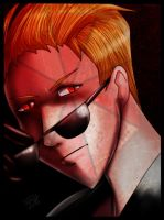 Albert wesker by WinterSpectrum