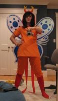 Godtier Vriska Cosplay Preview by CardboardSwords