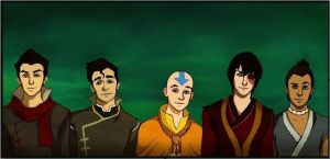 The Guys of Avatar by Moonrisepower