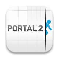 Portal 2 icons by estremodesign