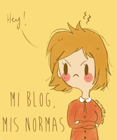 Mundo Blogger #7 - Mi blog, mis normas by Thegirlins