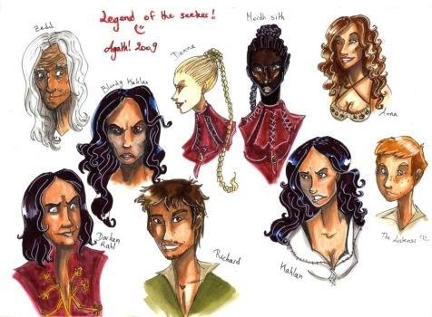 Legend of the seeker by Agatha-Macpie
