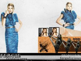 Fergie - Colored Version Wall. by me969