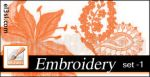 PHs...Embroide..Brushes. set 1 by el3sl-stock