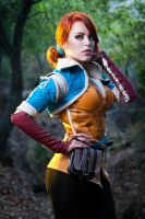 Triss Merigold by nadyasonika