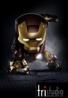 CHIBI IRONMAN by tridenth