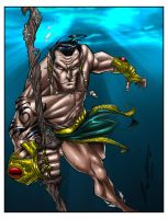 Prince Namor by Steven Sanchez by richmbailey