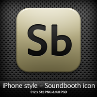 iPhone style - Sb CS4 icon by YaroManzarek
