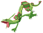 Rayquaza Vector by DragonChaser123