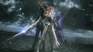 FFXIII-2 Wallpaper FULL HD by lRaiyan
