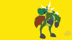 Centaur Man Minimalist Wallpaper by Oldhat104
