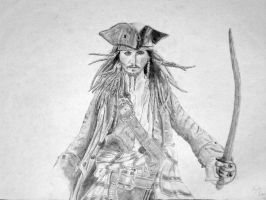 Jack Sparrow by TheHappyDare