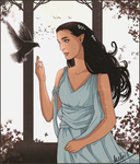 Elwing (Tumblr Giveaway) by MellorianJ