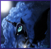 NightmareMoon by VileRaven