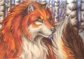 Yahont - ACEO trade with M-U-H-A by teiirka