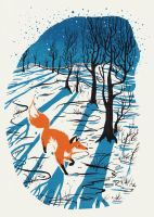 Winter Fox by Kanizo