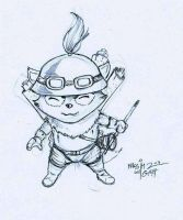 Teemo pencil by Massimo-Weigert