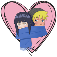 NaruHina-heart by RamonaChan