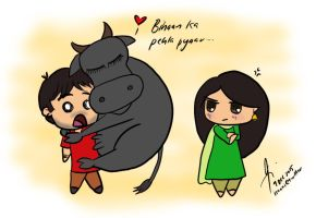 ThaHaan - Bihaan's First Love by isnani