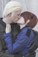 Hetalia Gerita 'Don't stop me now' by Hirako-f-w