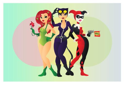 Gotham Girls by Indy-Lytle