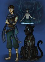 Character Page: Fenroth by BeastQueen