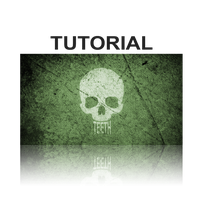 Tutorial Skull - with Texty Teeth by WisdomX