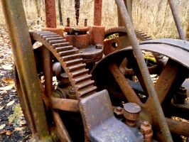 Old and Rusted by abiggerline
