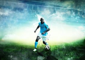Maicon 3 - Manchester City by azh-zharku