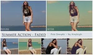 Summer Set - 'Faded' - Free Sample by KayleighJune