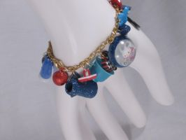 Alice in Wonderland Bracelet by PoniesOfDOOOM