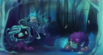 Tenticale Troop and Makin' Waves -Event 6.2 Collab by Ogrefairy