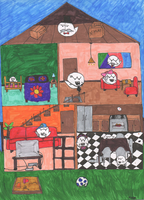 Nintendo: Boo Family by sidser