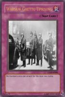 Warsaw Ghetto Uprising card by Mexicano27