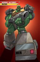 Beast Wars Rhinox by EspenG