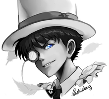 Kaitou Kid by Fishiebug