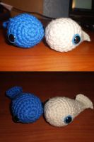 Crochet Whales by msirae