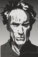 SVG Clint Eastwood by anotherrandomaccount