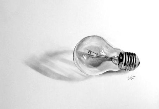 Light Bulb by EruwenRose
